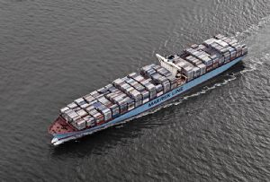 image: Mediterranean Shipping Company (MSC), Maersk, Hapag-Lloyd and Ocean Network Express (ONE) vessel sharing container freight digital partnership