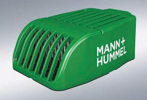 image: Germany Mann+Hummel WHO particulates fine dust filter road haulage trucks buses commercial vehicles
