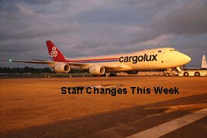 image: Luxembourg appointments freight and logistics air cargo carrier resignations Italy US Croatia Kenya India China