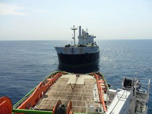 image: Mozambique South Africa bulk freight cargo salvage tug tonne