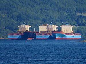 image: Alphaliner bulk freight container shipping cargo