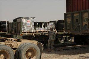 image: US logistics freight