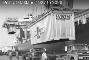 image: US, Port, Oakland, imports, exports, freight, cargo, record, levels, Covid, pandemic, second, wave, fear, Californian,