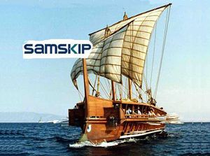 image: Samskip freight forwarder multimodal container logistics
