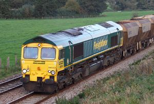 image: UK rail freight command report road haulage interchange Freightliner