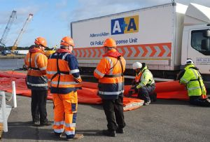 image: UK ABP Port of Hull oil spill supply chain maritime