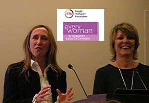 image: UK freight transport logistics FTA everywoman awards KPMG