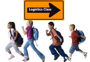 image: UK freight logistics education job option road haulage driver shortage