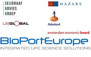 image: BioPortEurope freight forwarding logistics life science Amsterdam warehousing customs