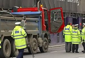 image: UK London cyclist lorries deaths road haulage operators TfL Sadiq Khan