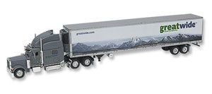 image: Greatwide logistics truck 3PL freight