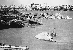 image: UK Davies Turner freight forwarder sea road Iran Khorramshahr Soviet Union