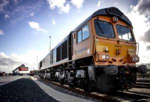 image: UK GB railfreight rail freight operator Hector