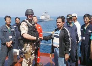 image: Somalia pirate update bulk freight merchant vessels