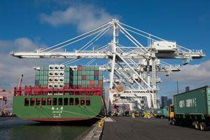 image: US port alliance on intermodal freight Tacoma Seattle Northwest Seaport