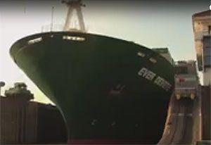 image: Panama pub quiz canal first vessel maritime lottery transit