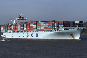 image: China container ocean shipping line freight alliance CSCL Maersk MSC CMA CGM COSCO OOCL carriers Evergreen