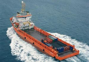 image: Norway offshore energy logistics fleet vessel Solstad