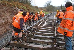 image: Belgium freight rail track