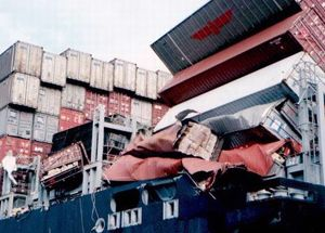 image: IMO container shipping freight boxes cargo security