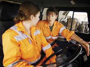 image: UK everywoman award transport freight and logistics road haulage supply chain