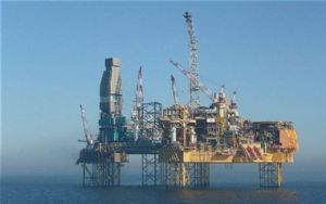 image: North Sea Gas Rig Piper Alpha shipping exclusion zone