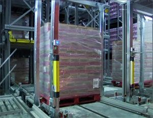 image: UK warehousing pallet automated storage retrieval freight storing RediTechniX
