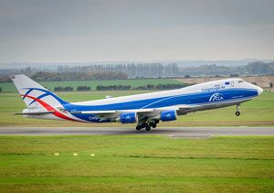 image: UK CargoLogicAir (CLA) all cargo carrier air freight British oversize logistics