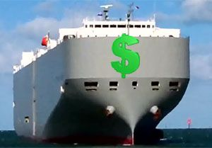 image: US Japan freight forwarders RoRo cargo shipping line K antitrust cartel