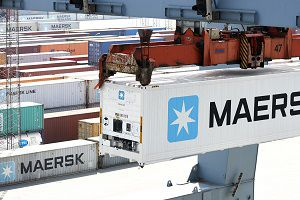 image: Maersk container shipping line Star Cool reefer energy consumption