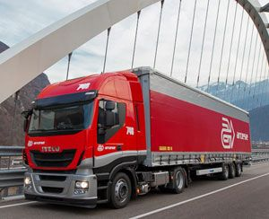 image: Switzerland freight forwarding groupage outfit logistics agent road haulage cooperation Arcese Italian Spain Panalpina