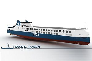 image: DFDS China Denmark DFDS Seaways Jinling shipyard RoRo ferry freight vessel ship