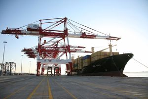 image: Muelle Prat Barcelona freight forwarding container terminal forwarder vessel