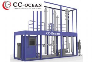image: Japan, K Line, Mitsubishi, shipbuilding, Class NK, vessel Carbon, capture, CO2, emitted, maritime, onboard, system,