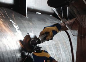image: 3M grinding wheels shipbuilding