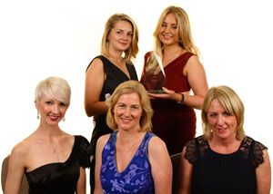 image: UK women in logistics transport heroines Transaid charity ball