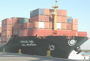 image: Allseas global logistics shipping India freight forwarding DKT SCI TEU