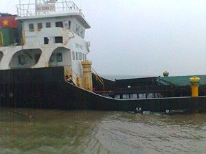 image: Marie Celeste Vietnam freight ship cargo vessel fishermen