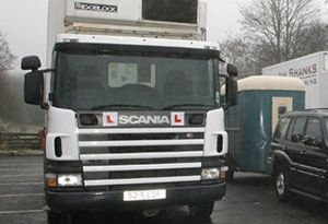 image: European Transport Safety Council (ETSC) HGV lorries vans professional; drivers CPC