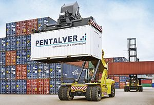 image: UK Pentalver container Felixstowe port demurrage quay rent freight forwarders shippers delayed
