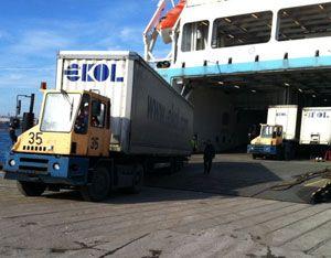 image: Turkey UK rail freight road trailer multimodal logistics RoRo green option environmental forwarder