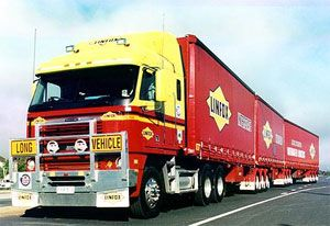 image: Australia truck freight election