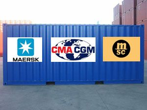 image: P3 container shipping line freight interests European Commission Competition Directorate Brussels Maersk Mediterranean Shipping Company MSC CMA CGM alliance