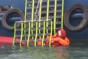 image: UK drowning refugees Mediterranean Jason�s Cradle ship safety equipment