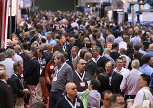 image: US Europe logistics transport freight expo conference MODEX Breakbulk Messe M�nchen MHI