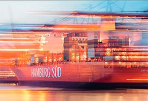image: Maersk MSC Hamburg S�d container shipping line alliance