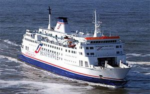 image: France UK freight shipment RoRo ferry freight