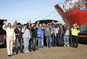 image: UK India Malaviya Twenty offshore supply ship crew Great Yarmouth Aberdeen flagged vessel