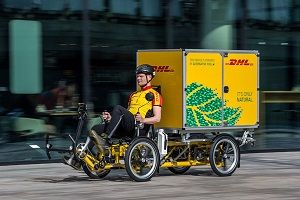 image: DHL bikes freight