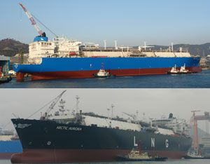 image: Greece Ice Class LNG Vessels Korea Lloyd�s shipping Hyundai